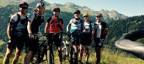 Haardbiker beim Alpencross