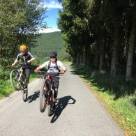 Haardbiker in Winterberg